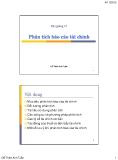 Bài giảng Phân tích báo cáo tài chính - Đỗ Thiên Anh Tuấn