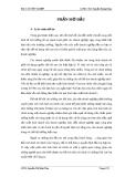 Báo cáo tốt nghiệp: Phân tích tình hình tài chính Công ty Cổ phần Công nghệ Tân Doanh