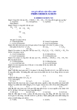 Chuyên đề bài tập tổng hợp phần Hidrocacbon