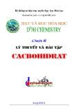 Chuyên đề lý thuyết và bài tập Cacbohidrat