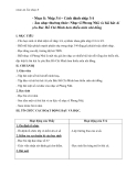 Giáo án Âm nhạc 6 bài 5: Nhạc lí: Nhịp 3/4 và cách đánh nhịp 3/4. ANTT: Nhạc sĩ Phong Nhã và bài hát Ai yêu Bác Hồ Chí Minh hơn thiếu niên nhi đồng