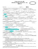 Đề kiểm tra 45 phút môn vật lý ( năm học 2013 -2014 ) - Trường THPT Hòn Đất