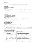 Giáo án Địa lý 12 bài 20: Chuyển dịch cơ cấu kinh tế