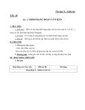 Giáo án bài Định đạng đoạn văn bản - Tin học 6 - GV.Tr.Hồng Hạnh