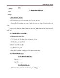 Giáo án Tin học 6 bài 15: Chỉnh sửa văn bản