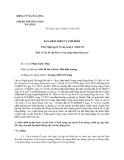 Mẫu bản kiểm điểm tự phê bình của trường THCS Pá Lông