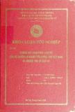 Khóa luận tốt nghiệp: Những qui pháp luật về bảo về quyền lợi ngưòi tiêu dùng Việt Nam và những vấn đề đặt ra