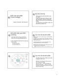 Bài giảng Chiến lược sản phẩm - Trần Hồng Hải