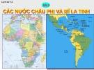 Bài giảng Lịch sử 12 bài 5: Các nước châu Phi và Mĩ Latinh
