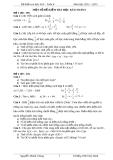 Một số đề kiểm tra học kỳ 2 toán 6 (2012- 2013)