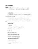 Giáo án bài Tạo dáng và trang trí thời trang - Mỹ thuật 9 - GV.N.Bách Tùng