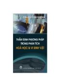 Ebook Thẩm định phương pháp trong phân tích hóa học và vi sinh vật - DS. Trần Cao Sơn