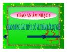 Bài giảng Âm nhạc thường thức: Giới thiệu nhạc sĩ MôDa - Âm nhạc 6 - GV.T.H.Như
