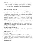 Giáo án Địa lý 10 bài 31: Vai trò, đặc điểm của công nghiệp, các nhân tố ảnh hưởng tới phát triển và phân bố công nghiệp