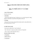 Bài 10: Cộng hòa nhân dân Trung Hoa - Giáo án Địa lý 11 - GV.Ng Thị Minh