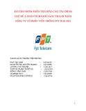 Tiểu luận: Phân tích khả năng thanh toán Công ty cổ phần viễn thông FPT 2010-2011