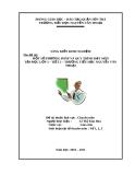 Sáng kiến kinh nghiệm: Một số phương pháp và quy trình dạy môn tập đọc lớp 2