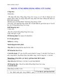Giáo án Địa lý 9 bài 35: Vùng Đồng Bằng Sông Cửu Long