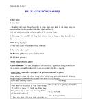 Giáo án Địa lý 9 bài 31: Vùng Đông Nam Bộ