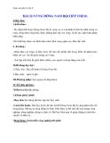 Giáo án Địa lý 9 bài 32: Vùng Đông Nam Bộ (tt)