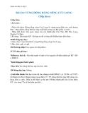 Giáo án Địa lý 9 bài 36: Vùng Đồng Bằng Sông Cửu Long (tt)