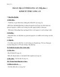 Giáo án Địa lý 9 bài 43: Địa lý tỉnh (thành phố) (tt)