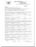 Đề thi thử Đại học lần 1 môn Hóa khối A, B năm 2014 - Trường THPT chuyên Lương Văn Chánh