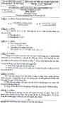 Đề thi tuyển sinh lớp 6 chất lượng cao môn Toán 2013 - Tiền Giang