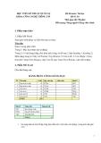 Đề thi môn Tin học  Đề số 01 - Học viện kỹ thuật quân sự