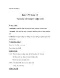 Giáo án bài Tạo dáng và trang trí chậu cảnh - Mỹ thuật 8 - GV.T.Ánh Hồng