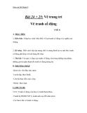 Giáo án bài Vẽ tranh cổ động - Mỹ thuật 8 - GV.T.Ánh Hồng