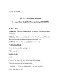 Giáo án bài Sơ lược mỹ thuật Việt Nam giai đoạn 1954 - 1975 - Mỹ thuật 8 - GV.T.Ánh Hồng