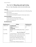 Giáo án bài Bóng dáng một ngôi trường – Âm nhạc 9 - GV.Trần Hoàng Như
