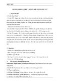 SKKN: Phương pháp giải bài tập hỗn hợp sắt và oxit sắt