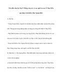 Văn mẫu chọn lọc lớp 9: Những cảm xúc và suy nghĩ của em vềThuý Kiều qua đoạn trích Kiều ở lầu Ngưng Bích