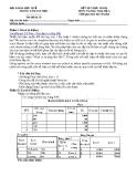Đề thi tin học thực hành ( mã đề 19) - Đại học khoa học Huế
