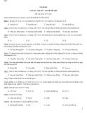 Đề thi kinh tế vi mô - Đề số 1
