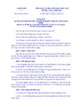 Nghị định số 182 / 2013/ NĐ- CP