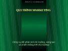 Bài giảng Công cụ để phân tích thị trường