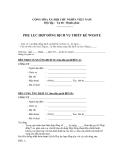 Phụ lục hợp đồng dịch vụ thiết kế Website