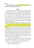 Đề tài: Phân tích nội dung và ý nghĩa cán cân thanh toán Quốc tế, liên hệ thực tiễn với Việt Nam giai doạn 2010-2012