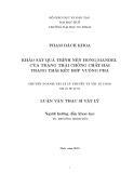 Luận văn Thạc sĩ: Khảo sát quá trình nén Hong - Mandel của trạng thái chồng chất hai trạng thái kết hợp vuông pha