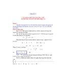 Hóa học lớp 10: Các dạng bài tập thường gặp ở chương Nguyên tử