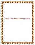 Bài văn mẫu lớp 12: Tìm hiểu về dấu chấm câu - tài năng của Xuân Diệu.