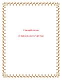 Văn phát biểu cảm nghĩ lớp 9: Cảm nghĩ của em về hình ảnh cây tre Việt Nam