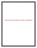 Văn phân tích lớp 9: Phân tích bài thơ Việt Bắc của Tố Hữu 20 dòng đầu