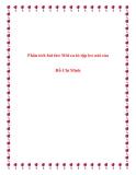 Phân tích bài thơ Mới ra tù tập leo núi của Hồ Chí Minh