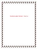 """Bài văn mẫu lớp 12: Tìm hiểu tác phẩm """"Đời thừa"""" - Nam Cao"""