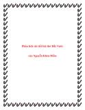 Bài văn mẫu lớp 12: Phân tích chi tiết bài thơ Đất Nước của Nguyễn Khoa Điềm