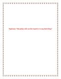 """Bài văn mẫu lớp 12: Nghị luận """"Mọi phẩm chất của đức hạnh là ở trong hành động"""""""